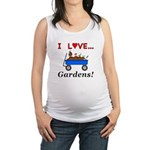 I Love Gardens Maternity Tank Top