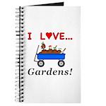 I Love Gardens Journal