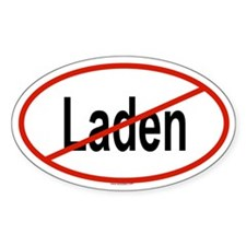 LADEN Oval Decal