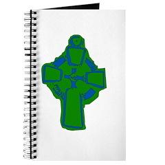 Emerald Green Celtic Cross Journal