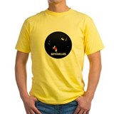 Seychelles flag Mens Yellow T-shirts