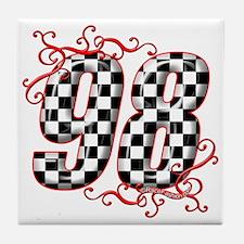 RaceFashion.com 87 Tile Coaster