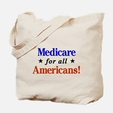 Medicare For All Americans Tote Bag