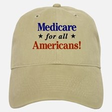 Medicare For All Americans Baseball Baseball Baseball Cap
