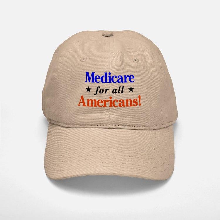 Medicare For All Americans Baseball Baseball Baseball Cap