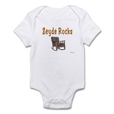 FUNNY YIDDISH ZEYDE ROCKS Infant Bodysuit
