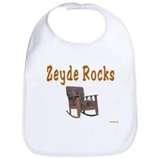 FUNNY YIDDISH ZEYDE ROCKS Bib