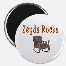 FUNNY YIDDISH ZEYDE ROCKS Magnet