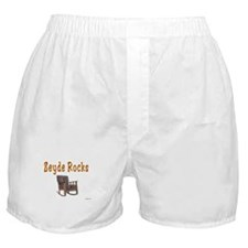 FUNNY YIDDISH ZEYDE ROCKS Boxer Shorts