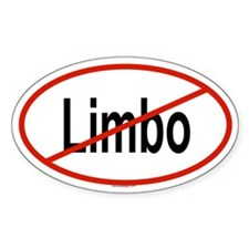 LIMBO Oval Decal