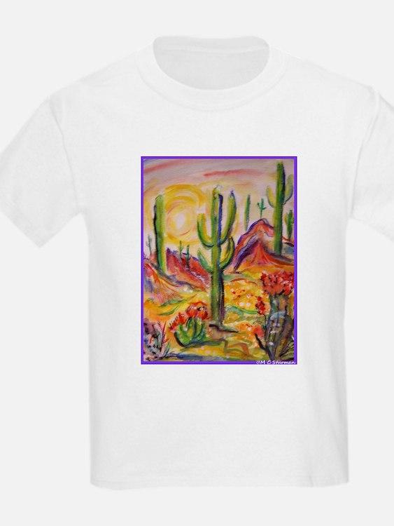 Saguaro Cactus, desert Southwest art! T-Shirt