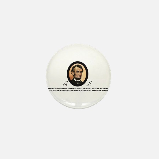 a good quote from abe Mini Button