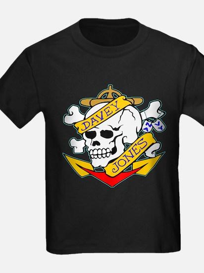 Davy Jones Locker Skull T