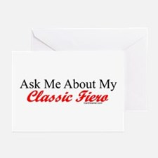 """""""Ask About My Fiero"""" Greeting Cards (Pk of 10)"""