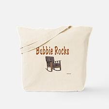 YIDDISH BUBBIE ROCKS Tote Bag