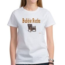 YIDDISH BUBBIE ROCKS Tee
