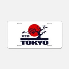 Tokyo 2 Aluminum License Plate