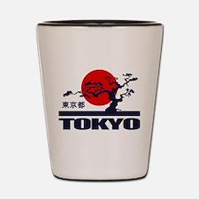 Tokyo 2 Shot Glass