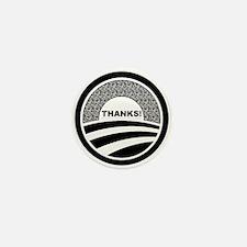 Cute Obama supporters Mini Button