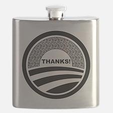 Unique Obama supporters Flask
