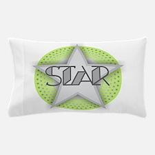 STAR - Green Pillow Case