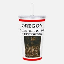 I hate this state Acrylic Double-wall Tumbler
