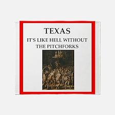 texas Throw Blanket