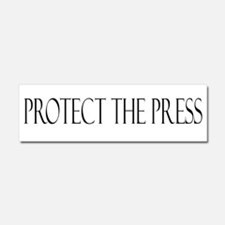 Protect the Press Car Magnet 10 x 3