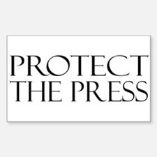 Protect the Press Decal