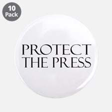 "Protect the Press 3.5"" Button (10 pack)"