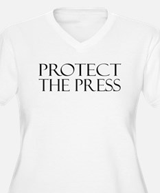Protect the Press Plus Size T-Shirt