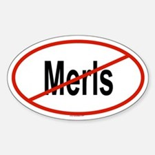 MERLS Oval Decal