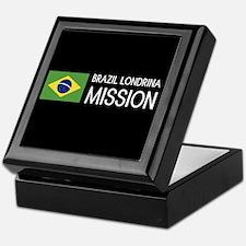 Brazil, Londrina Mission (Flag) Keepsake Box
