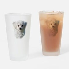 Cute Canine Drinking Glass