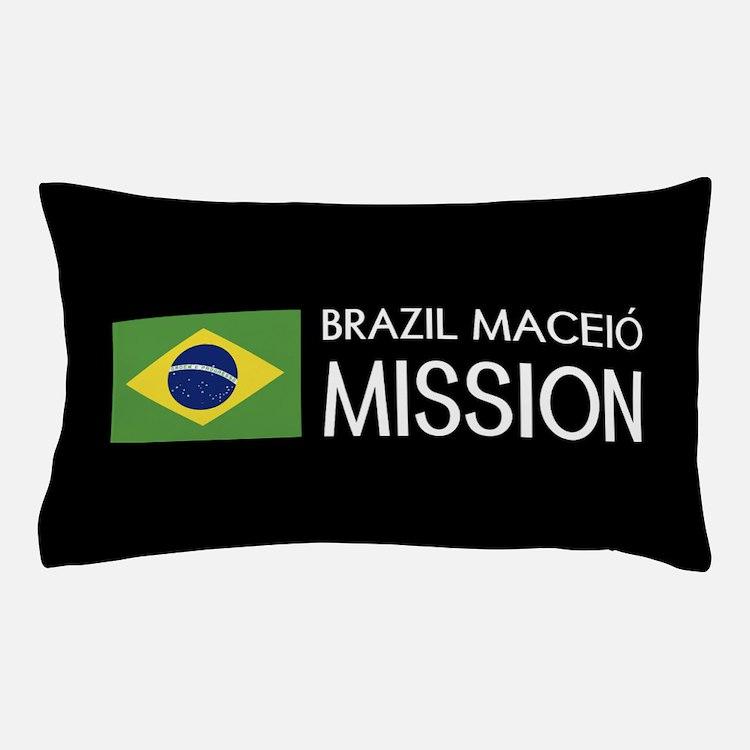 Brazil, Maceió Mission (Flag) Pillow Case