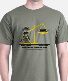 Actual Election Tampering T-Shirt