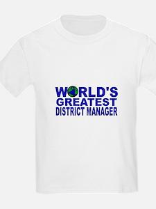 World's Greatest District Man T-Shirt