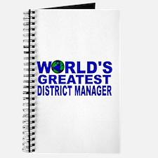 World's Greatest District Man Journal