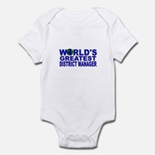World's Greatest District Man Infant Bodysuit