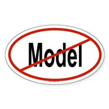 MODEL Oval Decal