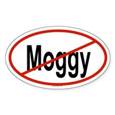 MOGGY Oval Decal