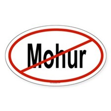 MOHUR Oval Decal
