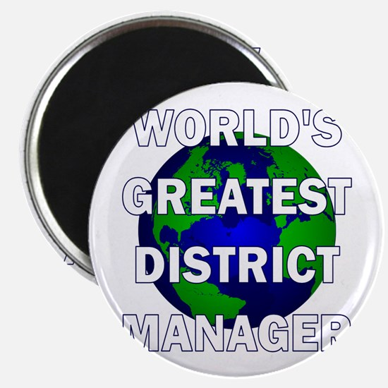World's Greatest District Man Magnet