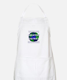 World's Greatest District Man BBQ Apron