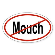 MOUCH Oval Decal