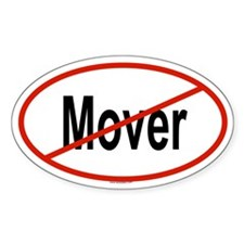 MOVER Oval Decal