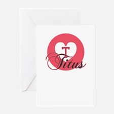 titus Greeting Cards