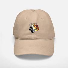 BEAR PRIDE PAW/BEAR Baseball Baseball Cap