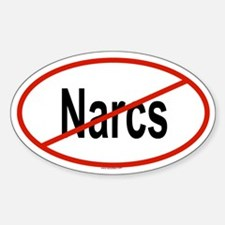 NARCS Oval Decal