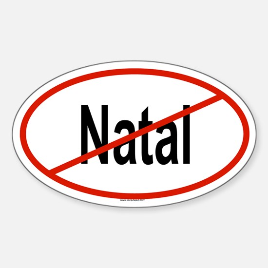 NATAL Oval Decal